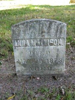 Anna M Allison