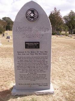 Nubbin Ridge Cemetery