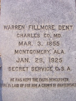 Warren Fillmore Dent, Sr