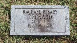 Rachael <i>Essary</i> Deckard