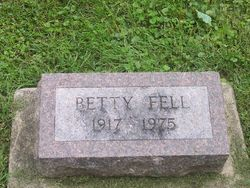 Elizabeth Ann Betty Fell