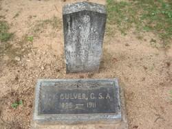 Edward F Culver