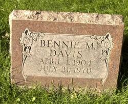 Bennie M Davis