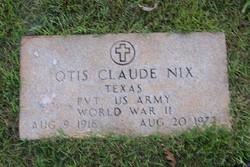 Otis Claude Nix