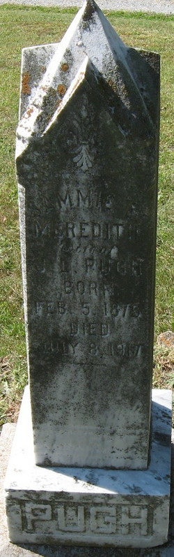 Sammie E. <i>Meredith</i> Pugh