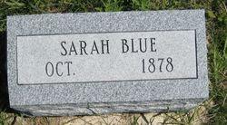 Sarah <i>Kissinger</i> Blue