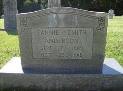 Fannie <i>Smith</i> Anderson