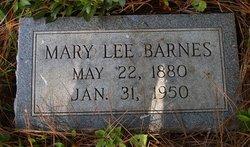 Mary <i>Lee</i> Barnes