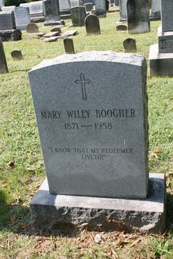 Mary Wiley Boogher