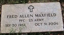 PFC Fred Allen Maxfield