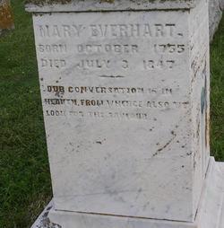 Mary Ann <i>Beckenbaugh</i> Everhart