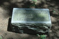 Alice May <i>Winchester</i> Allen
