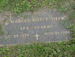 Charles Royce Shaw, Sr