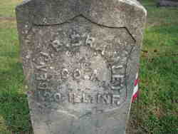 Pvt Benjamin B. Bramlett