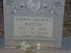 Lorine Frances <i>Crane</i> Baugh