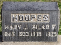 Silas F Hoopes