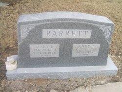 Mary F <i>Young</i> Barrett