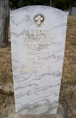 Leslie Arnold Hazel