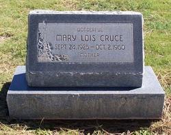 Mary Lois <i>Sproles</i> Cruce