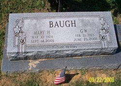 George Washington Baugh