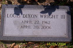 Louis Dixon Wright, III