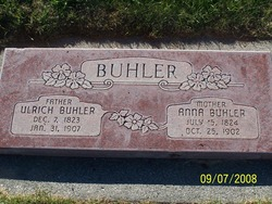 Anna <i>Burgdorfer</i> Buhler