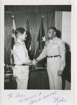 Comd. Sgt. Maj. Lales Van Cecil Les Waller