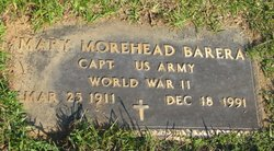 Mary Morehead Barera