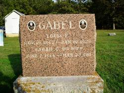 Sarah Catherine <i>Jackson</i> Gabel