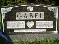 Virginia E. <i>Hicks</i> Gabel