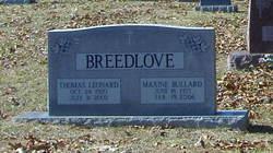 Mary Maxine <i>Bullard</i> Breedlove