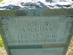 Joe Washington Vaughan