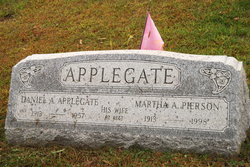 Martha A <i>Pierson</i> Applegate
