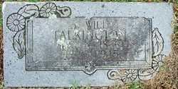 Jacob William Will Talkington