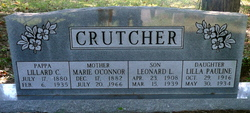 Marie <i>O'Connor</i> Crutcher