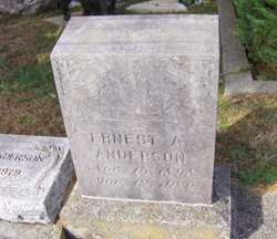Ernest A. Anderson