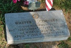 PFC Walter E Corlett