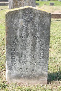 Sgt Robert Garland Anderson