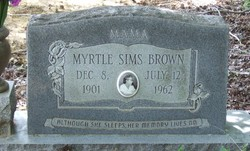 Myrtle <i>Sims</i> Brown