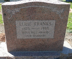 Lula Elida Lulie <i>Lent</i> Franks