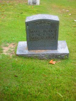 Mary Jane <i>James</i> Burks