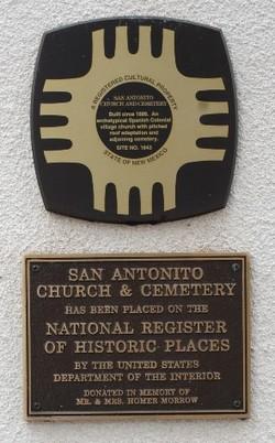 San Antonito Cemetery