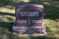 Alice M <i>Boogher</i> Beeler