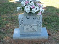 Mildred Levern <i>Stegall</i> Tye