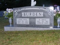 Annie Myrl Burden