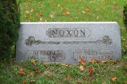 Beryl Genevieve <i>Wise</i> Noxon