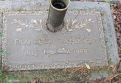 Frances J. Alderson