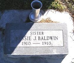 Bessie J Baldwin