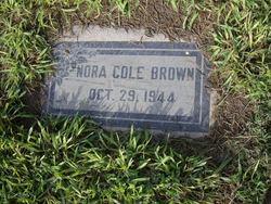 Lenora Case Nora <i>Cox Cole</i> Brown