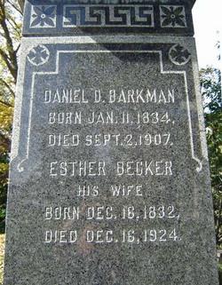 Esther <i>Becker</i> Barkman